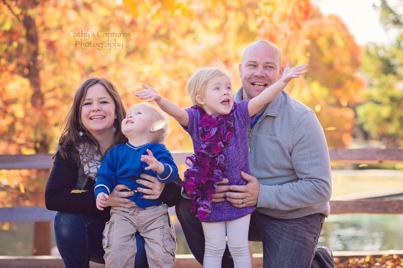 ~Sweet Donovan Family Celebrates Sunny Fall Da~ - ID: 15040107 © Cathy A. Rose
