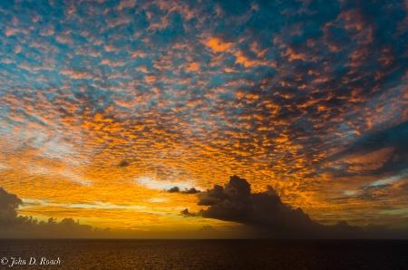 Dusk Near Barbados