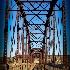 © Beth OMeara PhotoID# 15044409: Celebration Park Bridge 03 Vignette