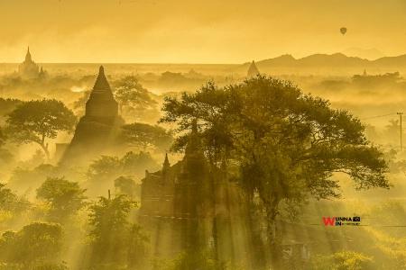 bagan scenery