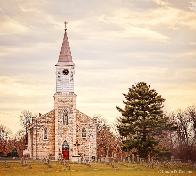St. Johns Church in Greensburg, Indiana