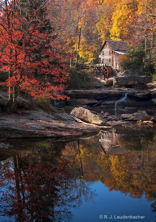Reflections of Glade Creek Mill