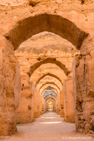 Royal Granaries near Meknes, Morocco