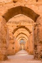 Royal Granaries near Meknes, Morocco