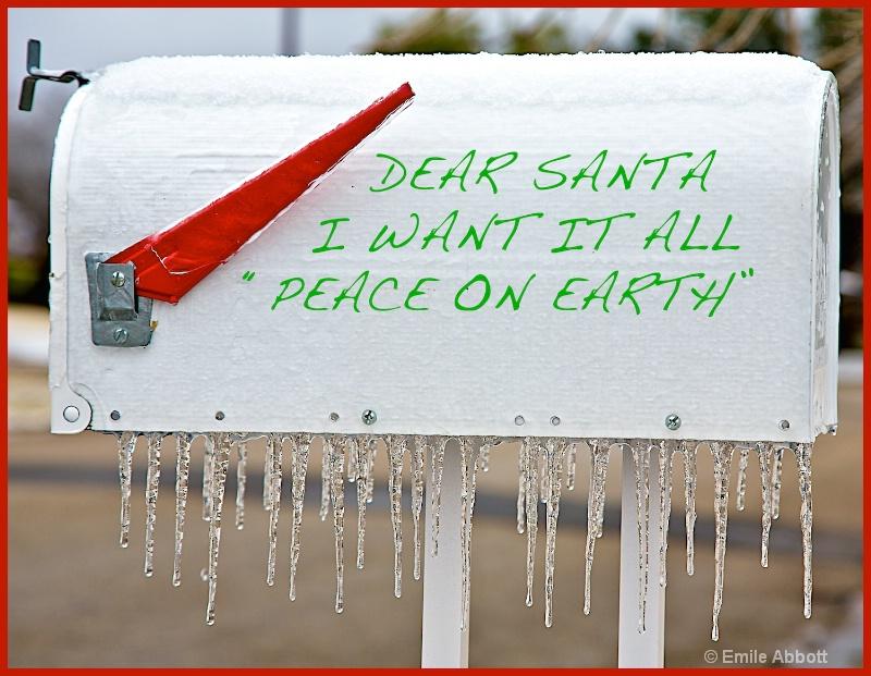 Dear Santa - ID: 15065206 © Emile Abbott