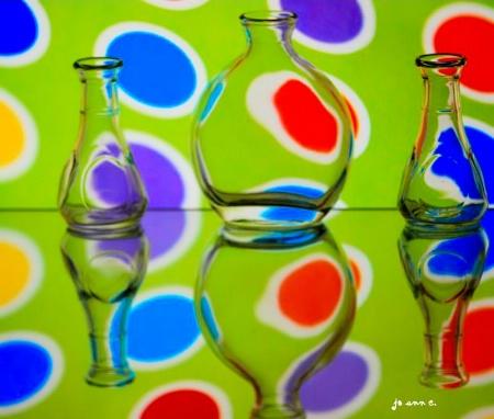 CIRCLES, COLORS AND SHAPES, REFLECTIONS...