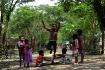 child jumping