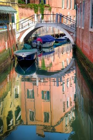 Venice Back Canal