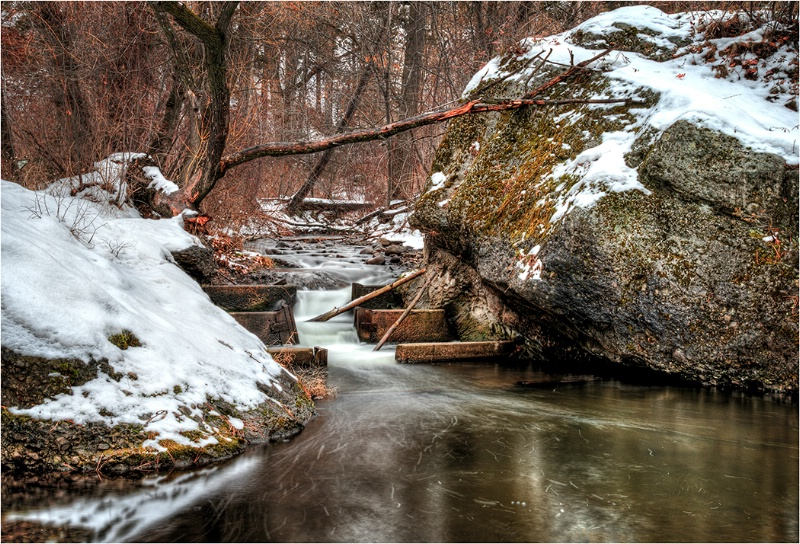 Winter Stream - ID: 15077505 © Kelly Pape