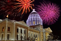 Arkansas Capitol Lighting Ceremony