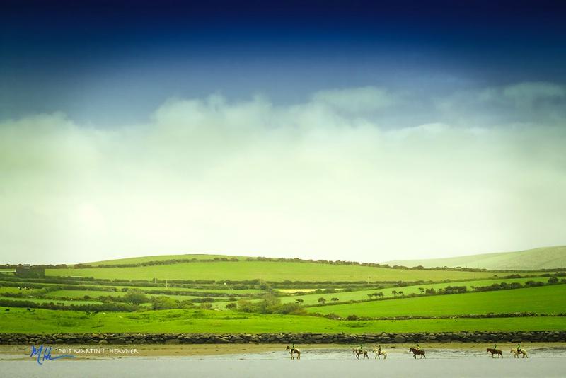 Morning Ride - Dingle Beach, Ireland - ID: 15079753 © Martin L. Heavner