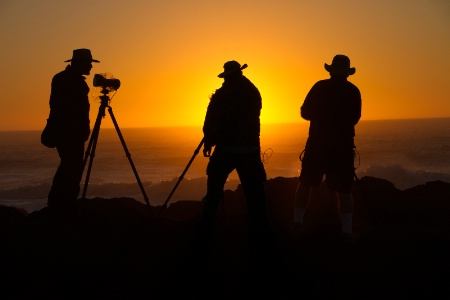 Three Photographers