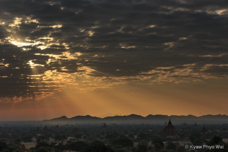 Glory Morning In Bagan