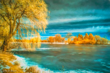 Winter at the Lagoon