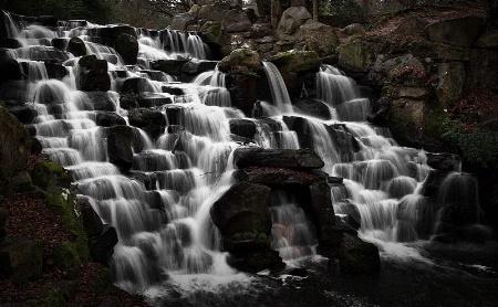 Waterfall in Virginia Water