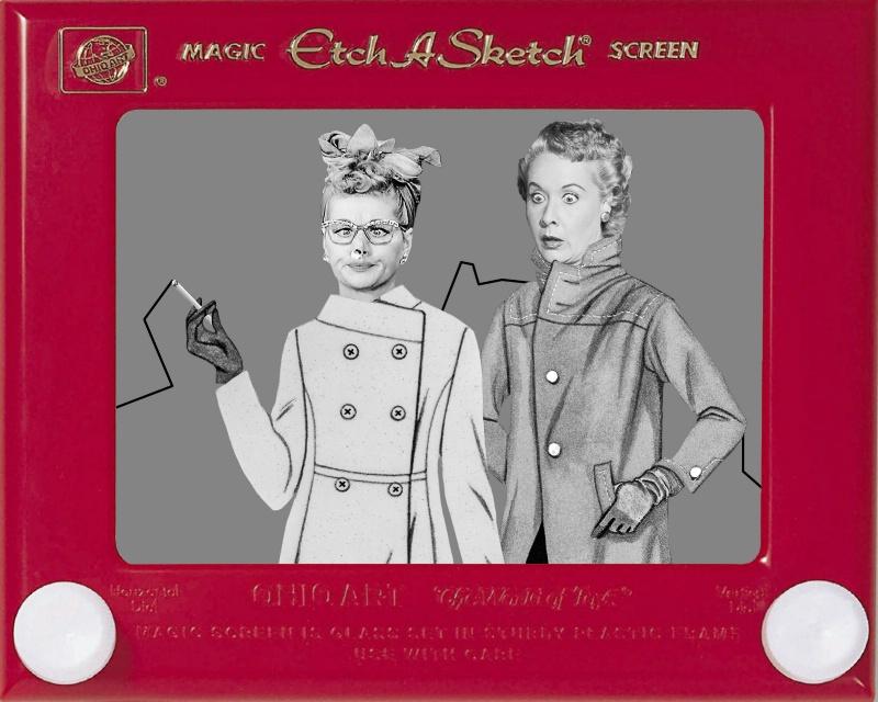 FIRE! Lucy & Ethel - ID: 15089227 © Sheila Babbie