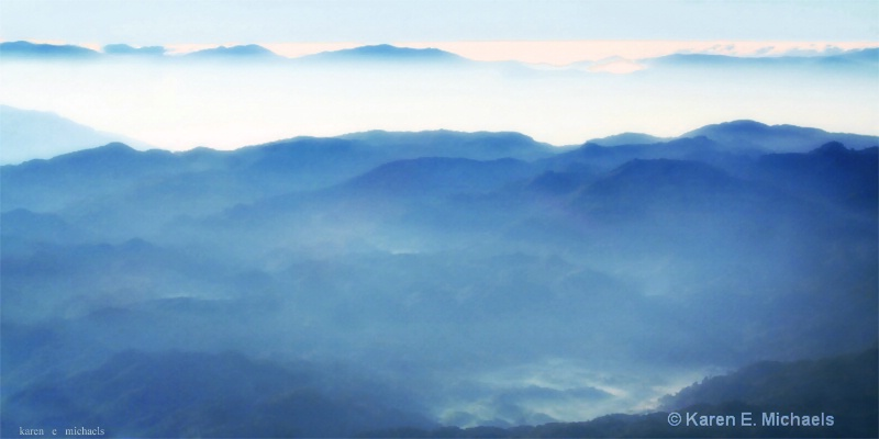misty mountains - ID: 15091429 © Karen E. Michaels
