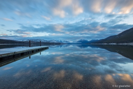 McDonald Lake on a February Morning