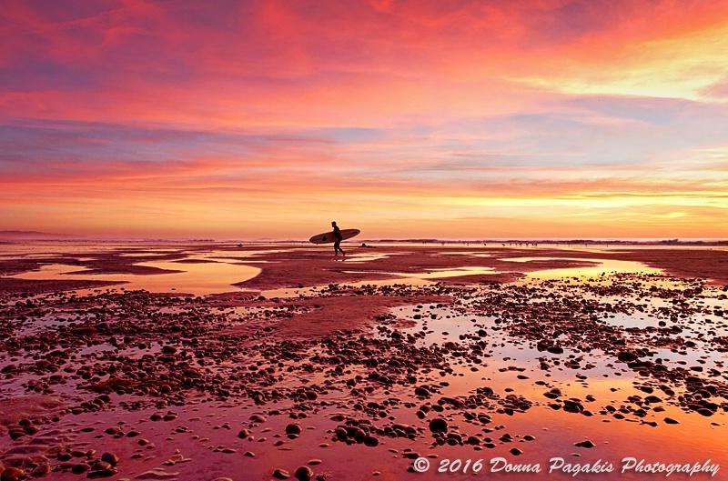 Surfer at Twilight