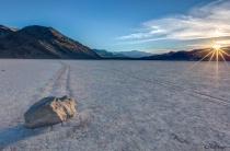 Death Valley Race Track starburst