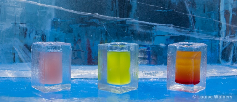 Ice Hotel Drinks - ID: 15103525 © Louise Wolbers