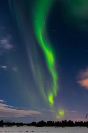 Springtime Aurora Borealis