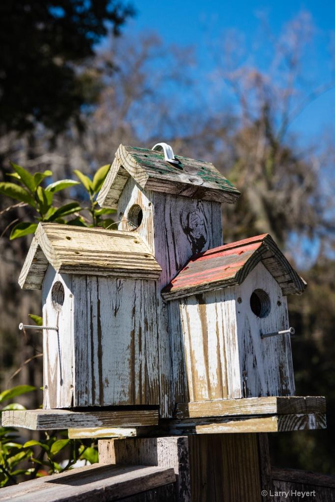 Birdhouse on Hilton Head Island - ID: 15105744 © Larry Heyert