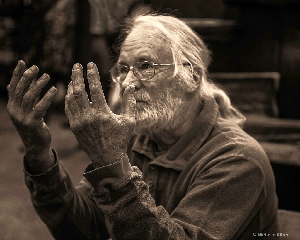 Hands of the Wood Carver