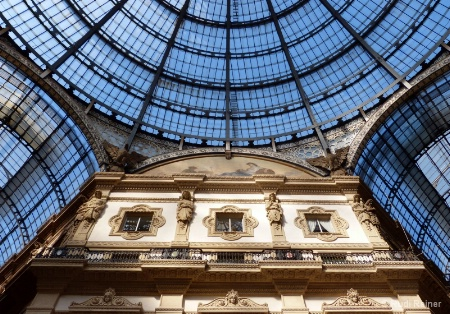 Looking up, Milan