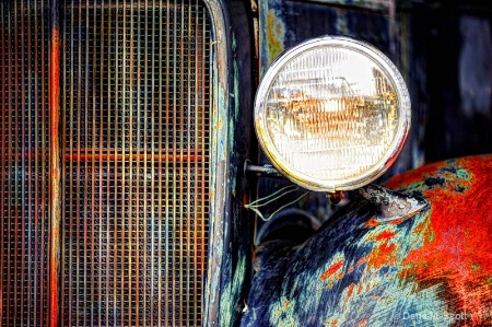 Old Ford Headlight