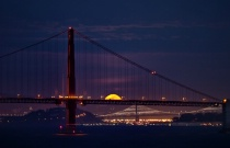 Moon over Bridges