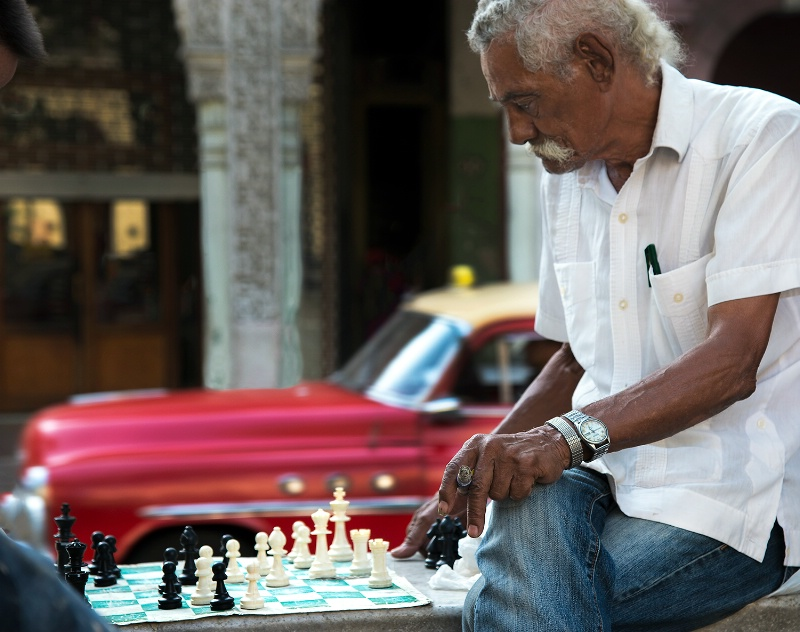 Playing Chess - ID: 15112109 © Kelly Pape