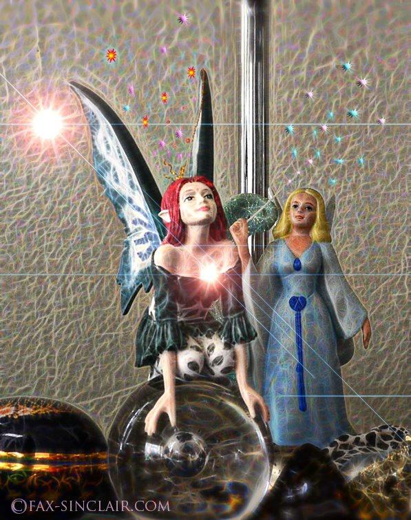 Fairies Sparkle  - ID: 15113532 © Fax Sinclair