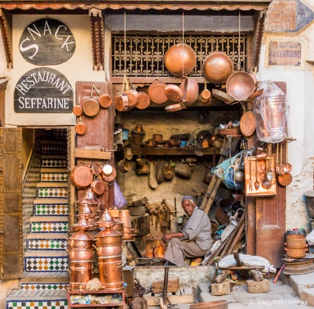 Coppersmith Morocco