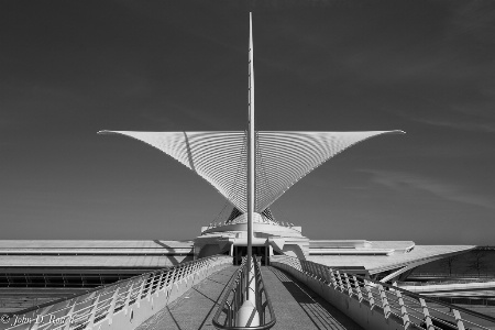Milwaukee Art Museum - Study in Symmetry #1