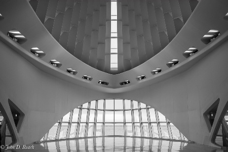 Milwaukee Art Museum - Study in Symmetry #2