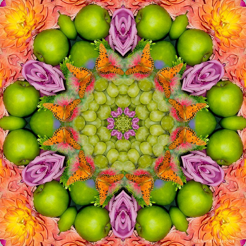 Kaleidoscope #10 - ID: 15118998 © Laurie H. Jacobs