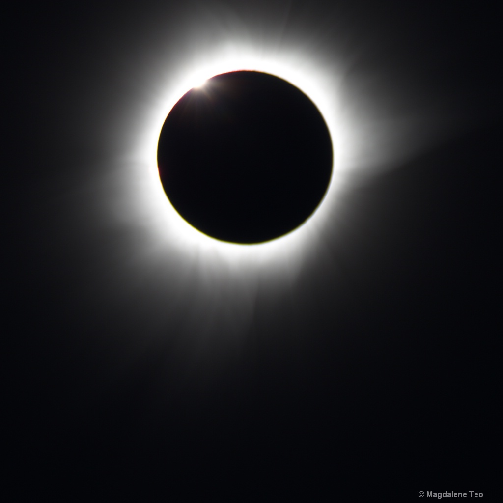 Diamond Ring shot of the Solar Eclipse - ID: 15120100 © Magdalene Teo
