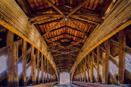 Benetka Covered Bridge