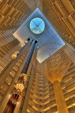 Looking Up at the Hyatt