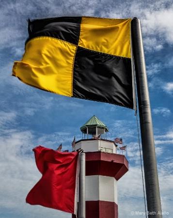 Flag Waving in Harbortown