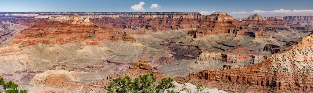 View at Mather Point Grand Canyon