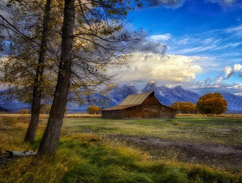 Iconic Barn