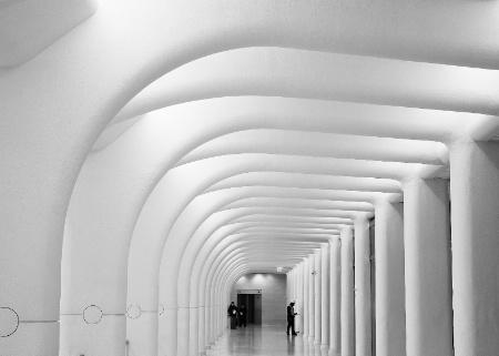WTC PATH Station Hallway