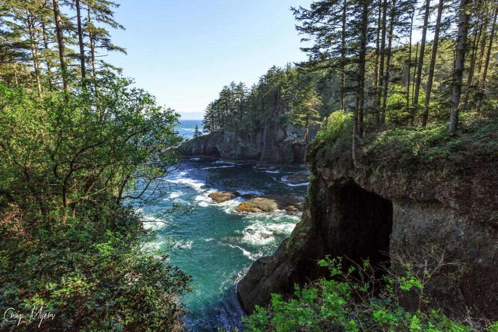 Cape Flattery Sea Cave - ID: 15147469 © Craig W. Myers