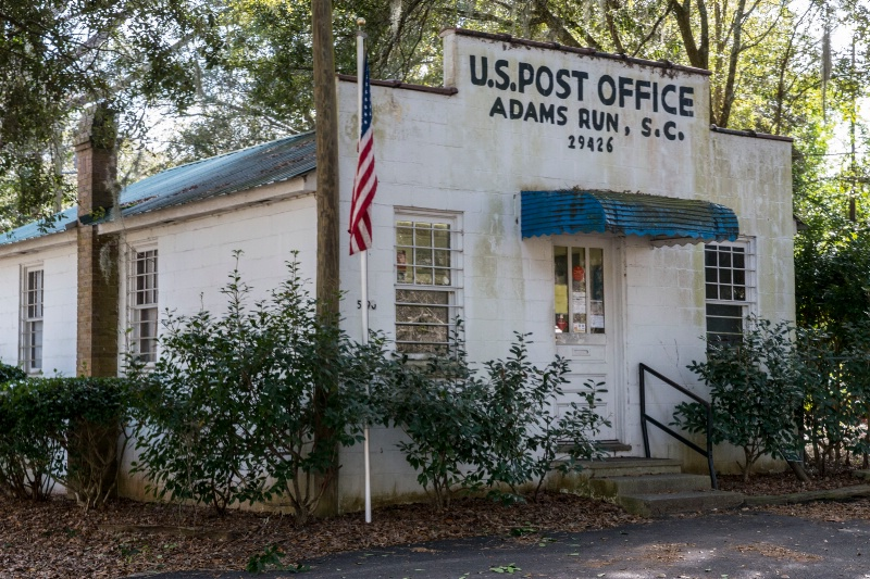 Adam's Run Post Office - ID: 15148488 © george w. sharpton
