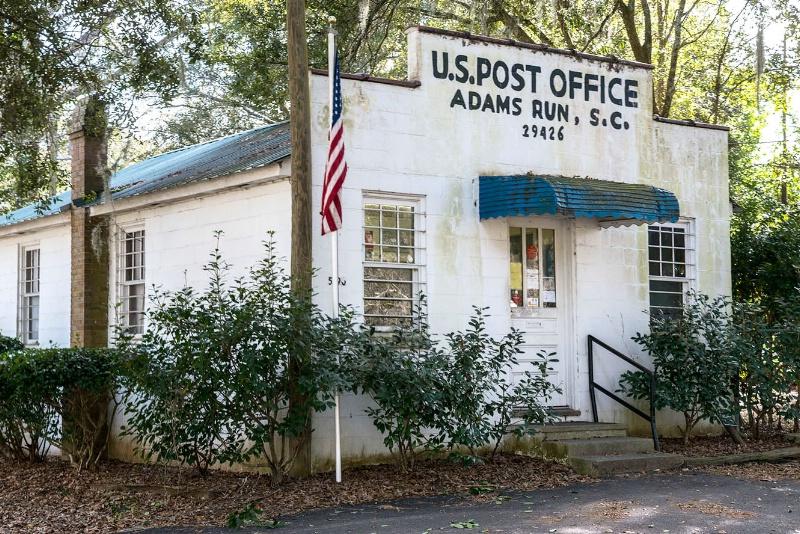 Adam's Run Post Office - ID: 15148491 © george w. sharpton