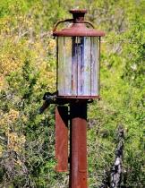 Old Glass Gasoline Pump