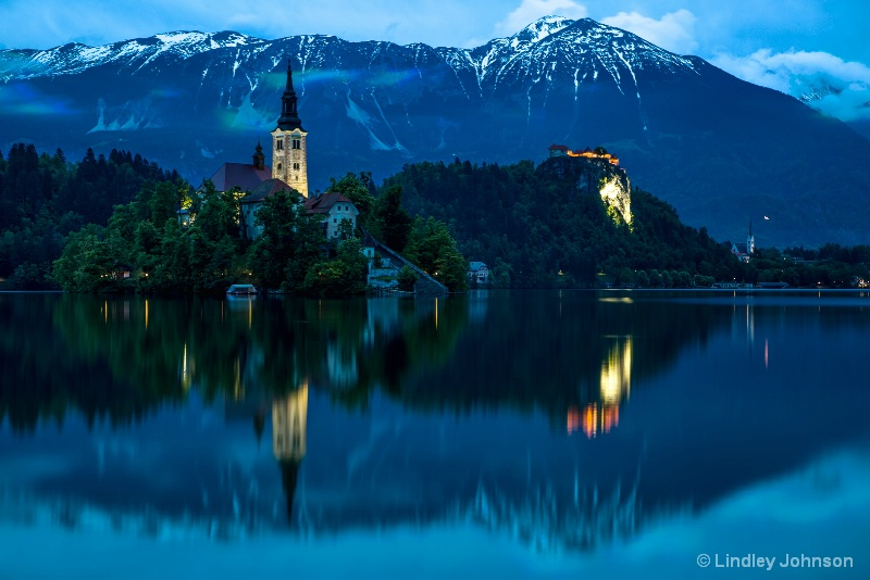Lake Bled Island Church