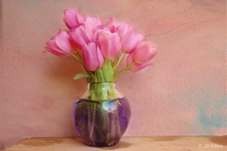 Ten Tulips